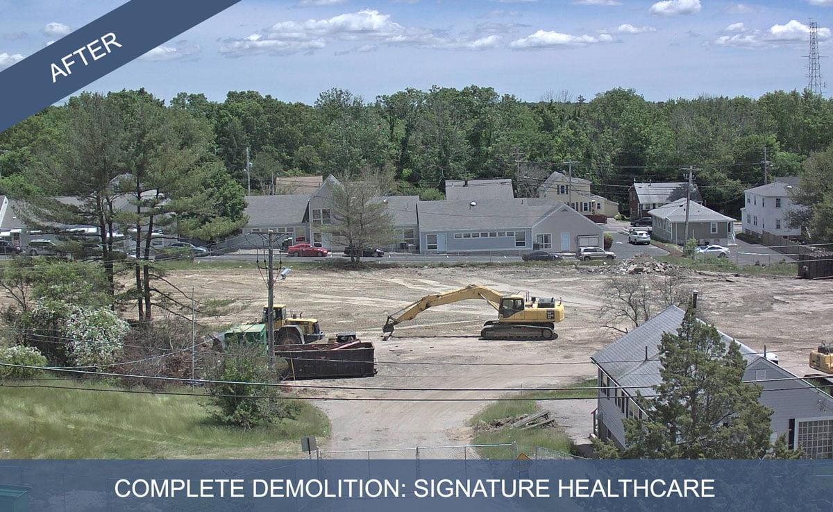 Complete Demolition After